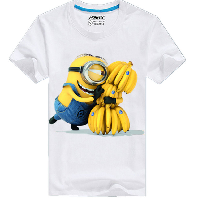 Alisister Cartoon Despicable Me Minion T Shirt Printed Funny Men Women 3d