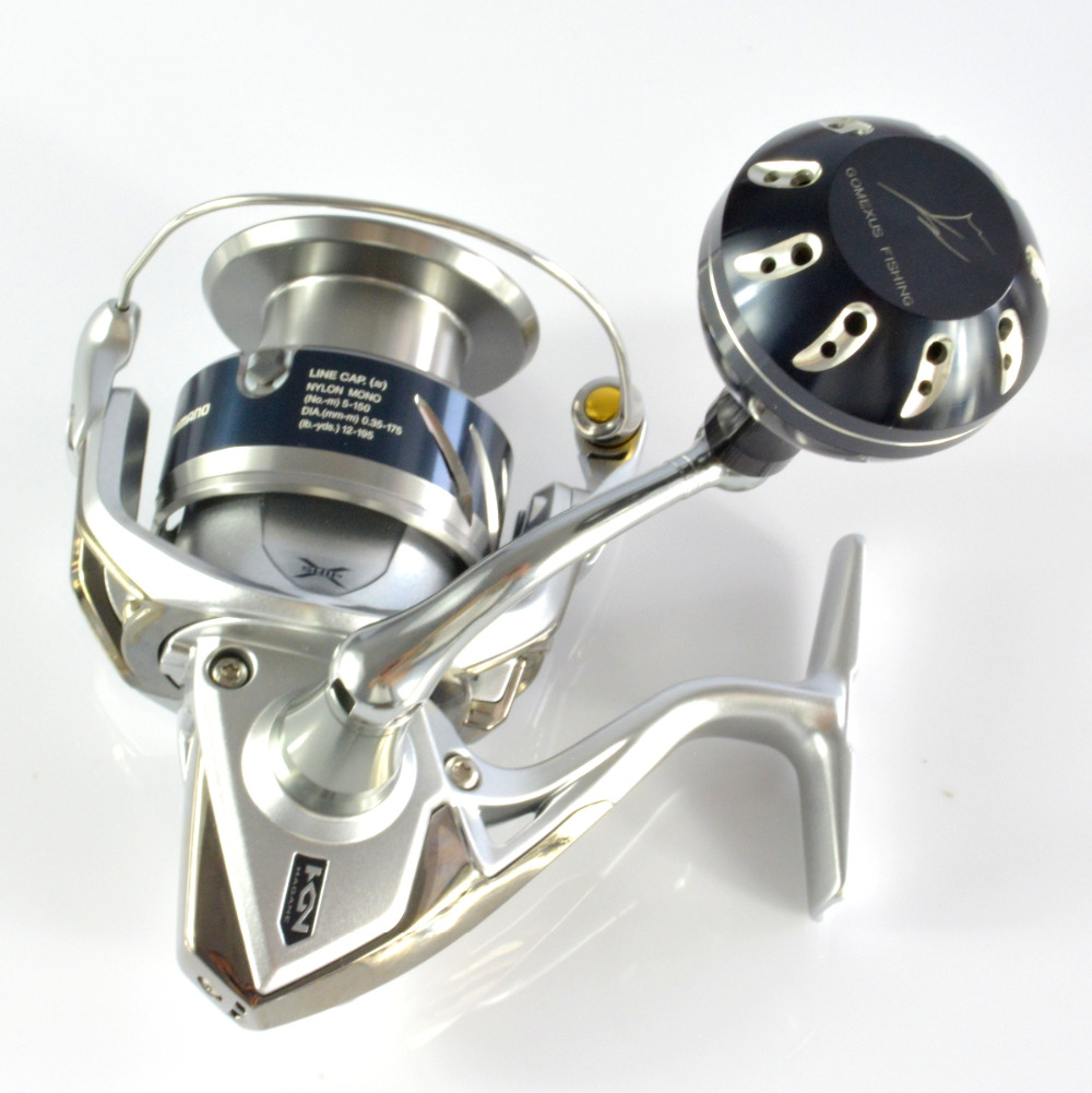 3480348c7d3 Power Knob For Stradic FK 5000 Stella SW 5000 20000 Twinpower SW Saragosa SW  Thunnus CI4+ Sustain FE 45mm Direct Fitment Gomexus-in Fishing Reels from  ...