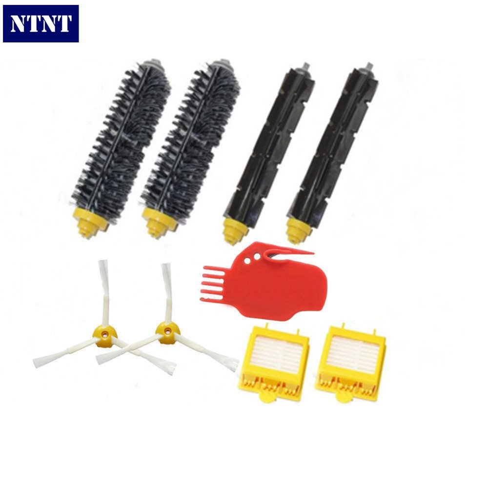 NTNT Free Post New Brush & Filters & 3 armed Side brush & tool for iRobot Roomba 700 770 760 780 ntnt free post new 50x side brush 3 armed for irobot roomba 500 600 700 series 550 560 630 650 760