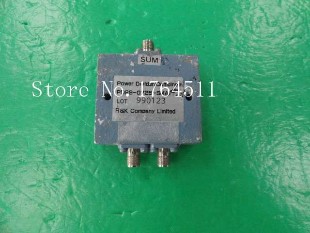 [BELLA] R&K PD2S-0725-SMA 450-2400MHZ Two SMA Power Divider