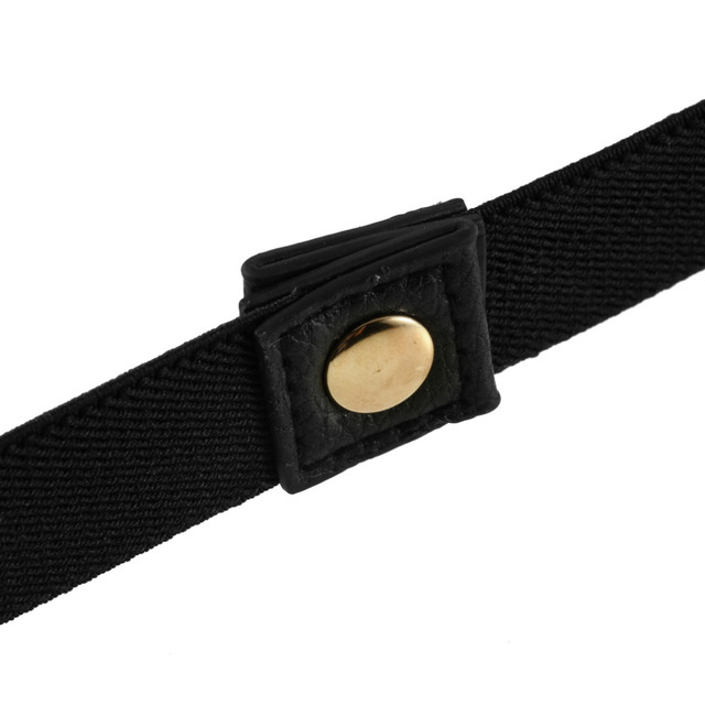 1Pcs Women Elastic Metal Waist Belt Metallic Bling Gold Plate slim Simple Band Hot Selling