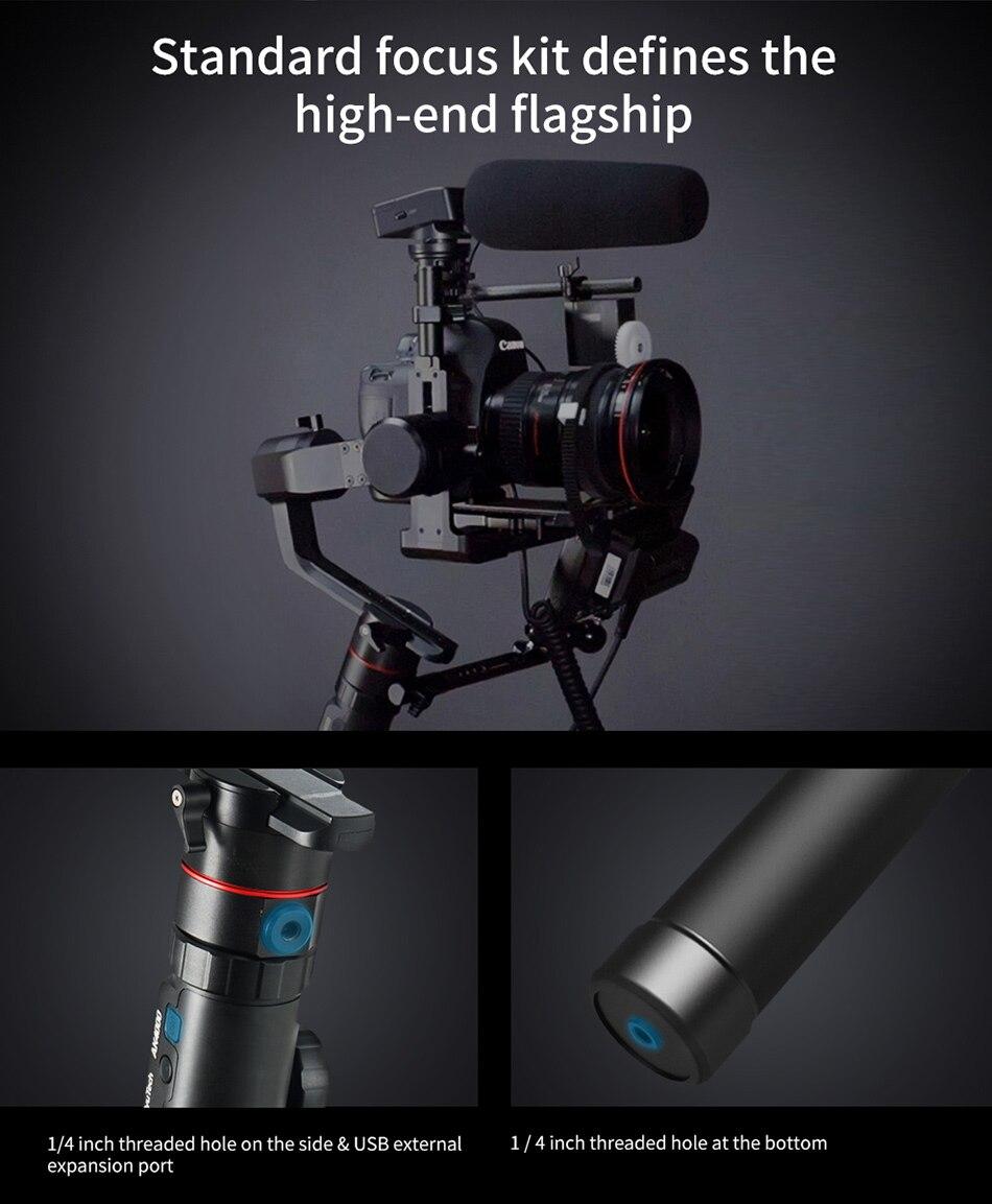 Feiyutech Feiyu AK4000 AK00 3-Axis DSLR Stabilizer Follow Focus Handhel Video Gimbal for Sony Canon Panasonic Nikon cameras 9