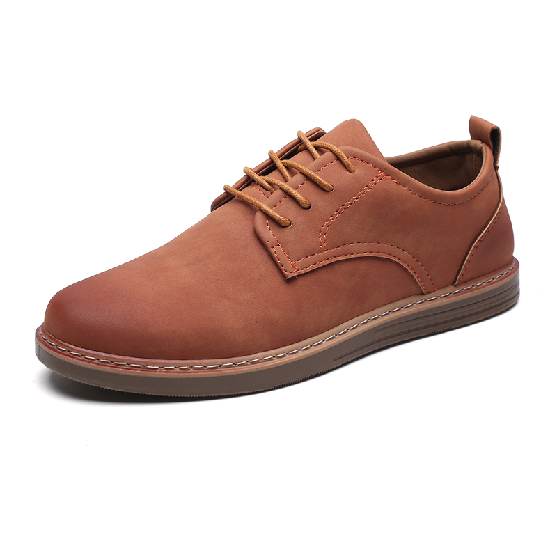 fashion leather casual shoes men comfortable leisure moccasins cheap dress male footwear work elegant boy oxford shoes for m (8)
