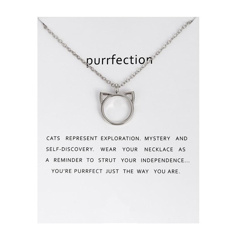 Cat Ear Purrfection Necklace