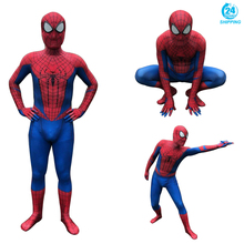 3D printing The Amazing Spider-Man Peter Benjamin Parker Spiderman Cosplay Costume Zentai Superhero Bodysuit Suit Jumpsuits
