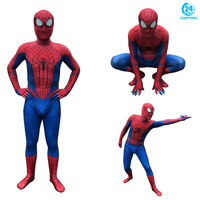 3D printing The Amazing Spider Man Peter Benjamin Parker Spiderman Cosplay Costume Zentai Superhero Bodysuit Suit Jumpsuits
