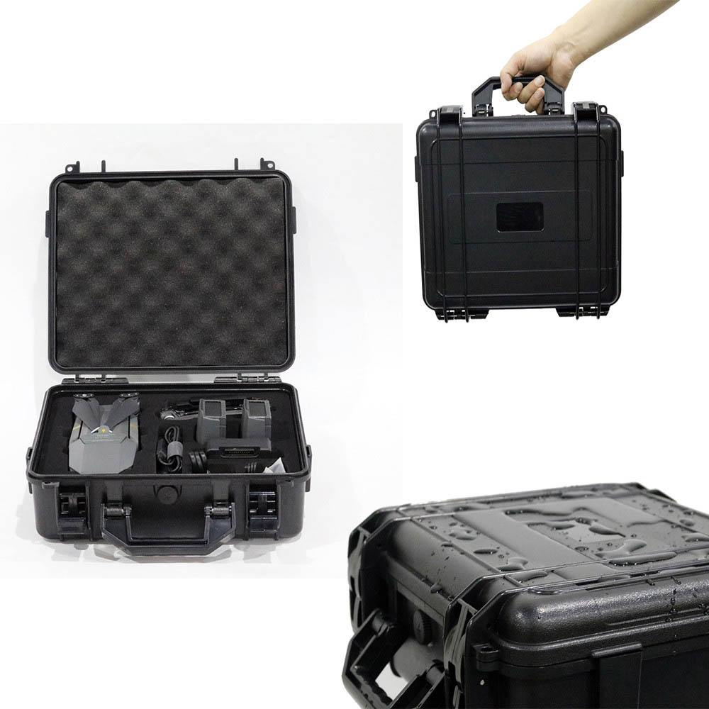 Carrying Case For DJI Mavic Pro Accessories ABS Explosion-Proof Hardshell Storage Bags For DJI Mavic Pro Drone 15A Drop Shipping storage bag protect case for dji spark dji mavic pro platinum alpine white abs hardshell box portable storage bag with epp inner