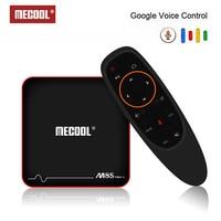 Mecool M8S PRO W ТВ Box Amlogic S905W голос Управление Декодер каналов кабельного телевидения 2,4G Смарт ТВ box Android 7,1 4 k Android ТВ Box 4 k медиаплеера