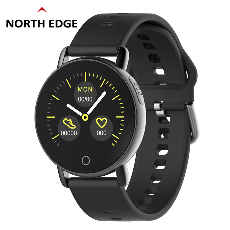North Edge 2019 New Smart Watch Men Women Heart Rate ECG PPG Monitor Blood Pressure Fitness Tracker Smartwatch Sport WatchNorth Edge 2019 New Smart Watch Men Women Heart Rate ECG PPG Monitor Blood Pressure Fitness Tracker Smartwatch Sport Watch