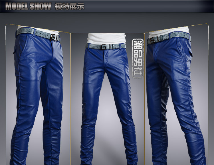bottom price select for latest super quality US $30.94 9% OFF|6 Colors Leather Trousers Men 2018 Mens Pants Leather  Fashion High Quality PU Material Zipper Skinny Faux Leather Pants for  Men-in ...