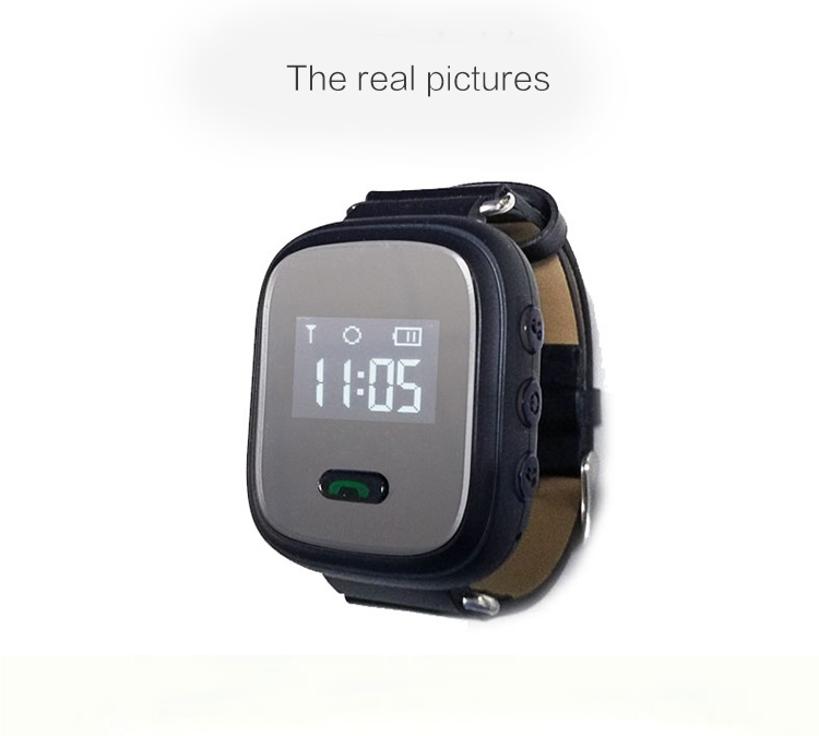 Newest waterproof gps Phone watch smart watch Q60 with sim SOS GPS LBS wifi Anti failing