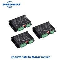 3pcs/lot Micro Stepper Motor Driver M415 Driver Controller For 42/57 Stepper Motor DC 9 42V Nema17 Nema23 Stepping Machine