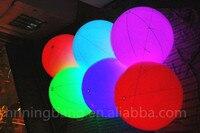 Darmowa wysyłka 2 m hot-sprzedaży pcv gigantyczne nadmuchiwane helem balonu LED