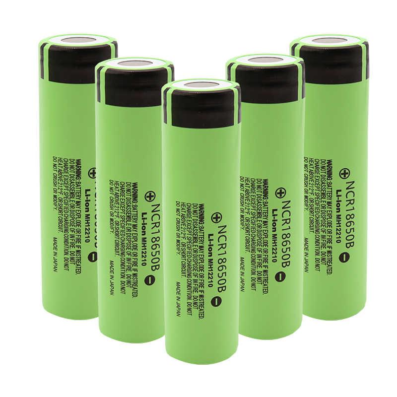 パナソニックオリジナル NCR18650B 3.7 v 3400 18650 リチウム充電式バッテリー懐中電灯の電池