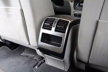Garniture de couverture de sortie d'aération de climatisation de Chrome d'abs pour Mercedes Benz GLK classe X204 200 300 360 accessoires automatiques