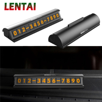 LENTAI For Mercedes benz w204 w203 w211 BMW e46 e39 e90 e60 e36 f30 f10 e30 x5 e53 f20 MG NEW 1Set Car parking card Switch style image