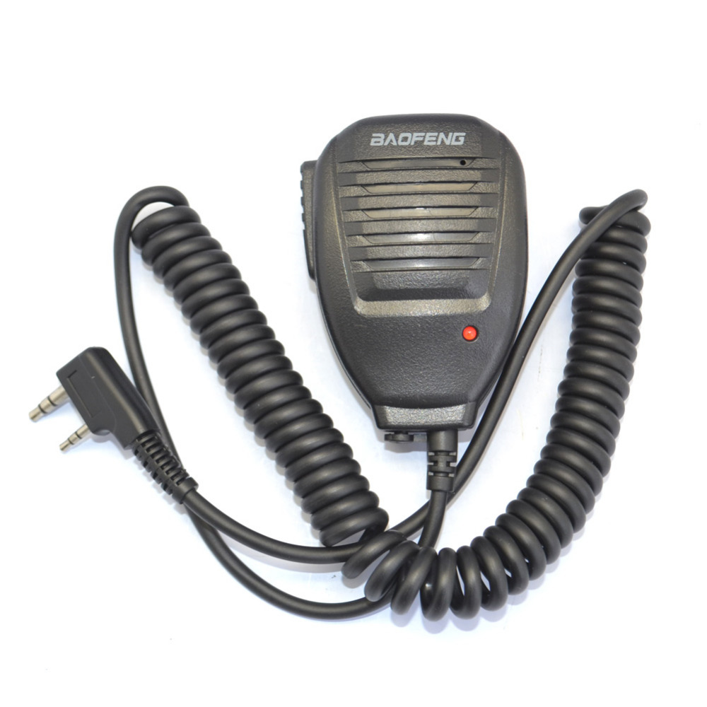 Speaker Microphone For Wouxun KG-UVD1P KG-UV8D Baofeng UV-5R Radio Walkie Talkie