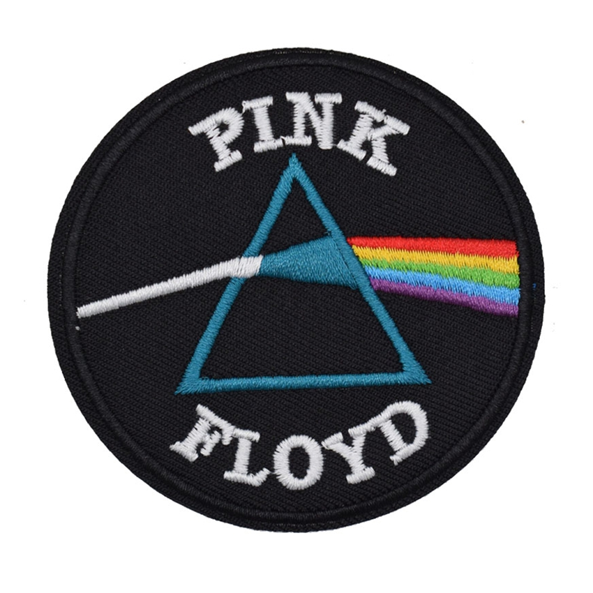 Big Sale 3 Pink Floyd Embroidered Music Band Logo Iron On Patch Emo