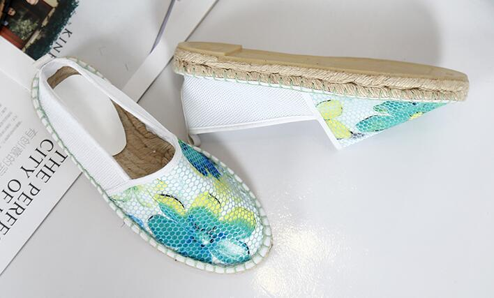 ФОТО 2017 New  Design women colorful espadrilles, girl cloth shoes  ,flat shoes size 35-40
