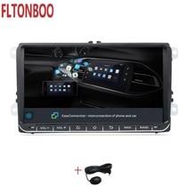 """9 """"Android 9.1 Navigazione di GPS Dell'automobile per il VW Volkswagen GOLF 5, Polo Passat b5, jetta Tiguan Touran Skoda, 7708, canbus, volante"""