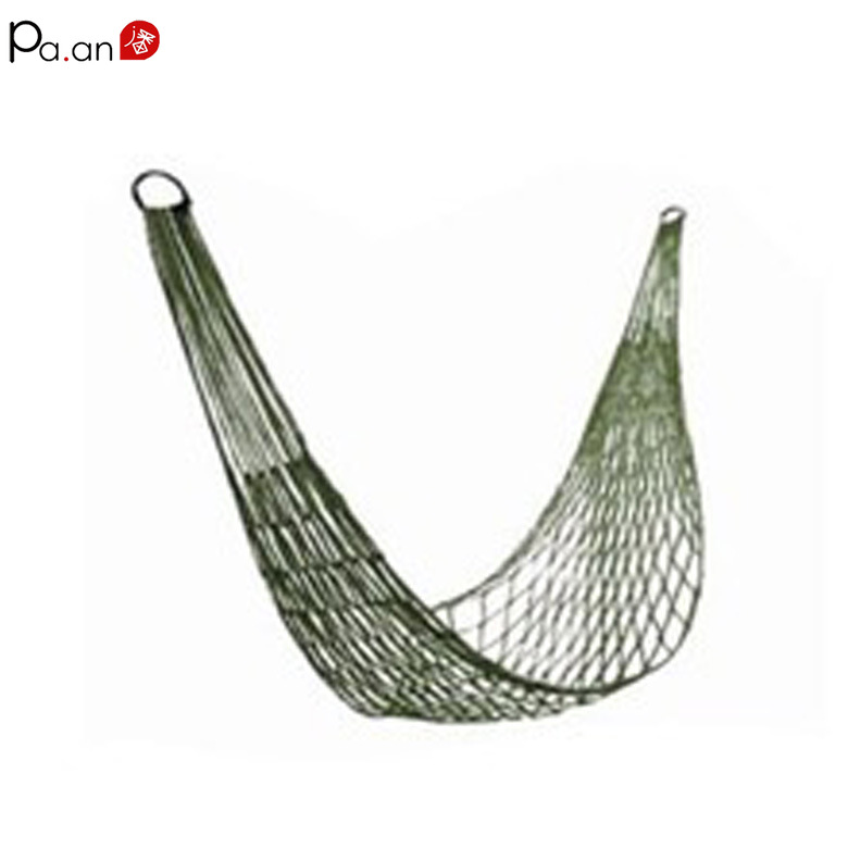 Upgrade Mesh Hammock Military Camp Hammocks Tent Outdoor Indoor Net Portable Beach Camping Chair Kids Swing Anti-rollover