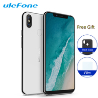 Ulefone X Dual 4G Sim Smartphone 5.85 4G 64GB Android 8.1 MT6763 Octa Core 16MP Face ID Fingerprint Wireless Charge Cell Phone
