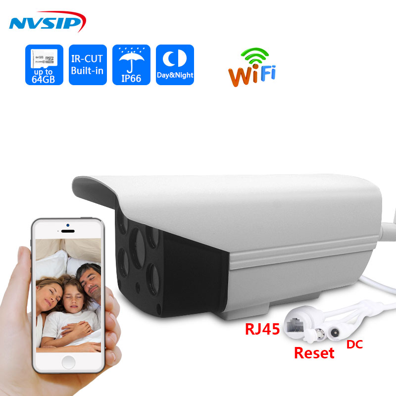 HD IP Camera 960p Wireless Bullet Camera WIFI P2P Waterproof Outdoor Security CCTV IP Cam Support 64G SD Card 1.3MP V380 APP vstarcam c7815wip 720p hd wireless bullet wifi ip camera outdoor security waterproof cctv compatibility and support 128g tf card