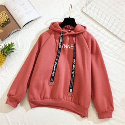 Arfreeker Casual Hoodies Women  Brand Long Sleeve Thick Warm Hooded Black Sweatshirt Hoodie Coat Casual Sportswear Pullovers 3