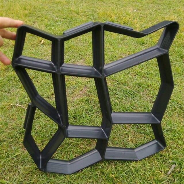 Trittsteine Garten machen dekorative betonformen für garten trittsteine diy pflaster