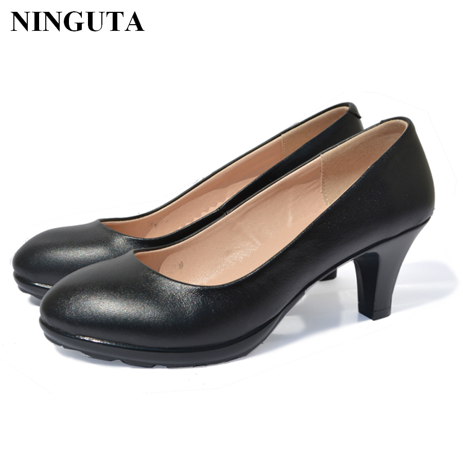 comfortable shoes for work genuine leather dress shoes pumps comfortable work 28510