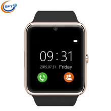 Gftบลูทูธสมาร์ทนาฬิกาซิมeletronic osสวมใส่อุปกรณ์smart watch smartสุขภาพpedometer gt08ดูสมาร์ท