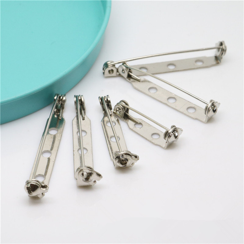 1000pcs 35mm High quality Clasp Back Pins for Crafts w/locking Safety Clasp
