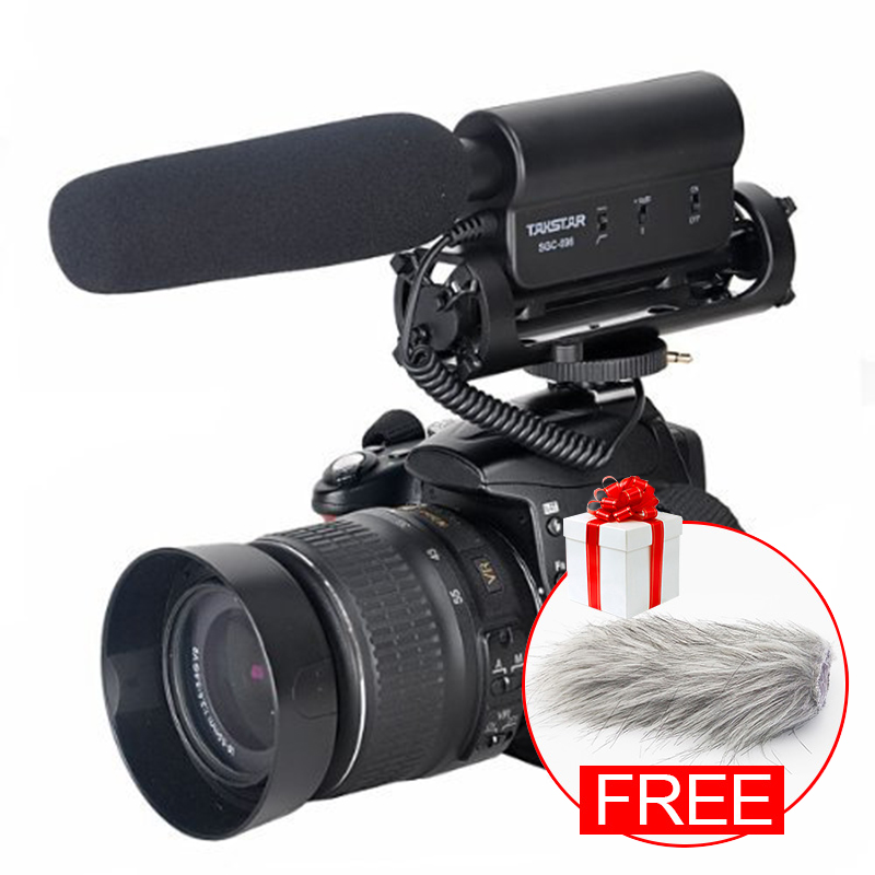Original TAKSTAR SGC 598 Photography Interview Shotgun MIC Microphone for Nikon Canon DSLR Camera for Vloggers
