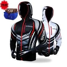 Фотография Fishing Clothing Hooded Men Jacket Waterproof Quick-Drying Coat Fishing Shirt For Hiking Cycling Fishing Clothes Pesca Free Gift
