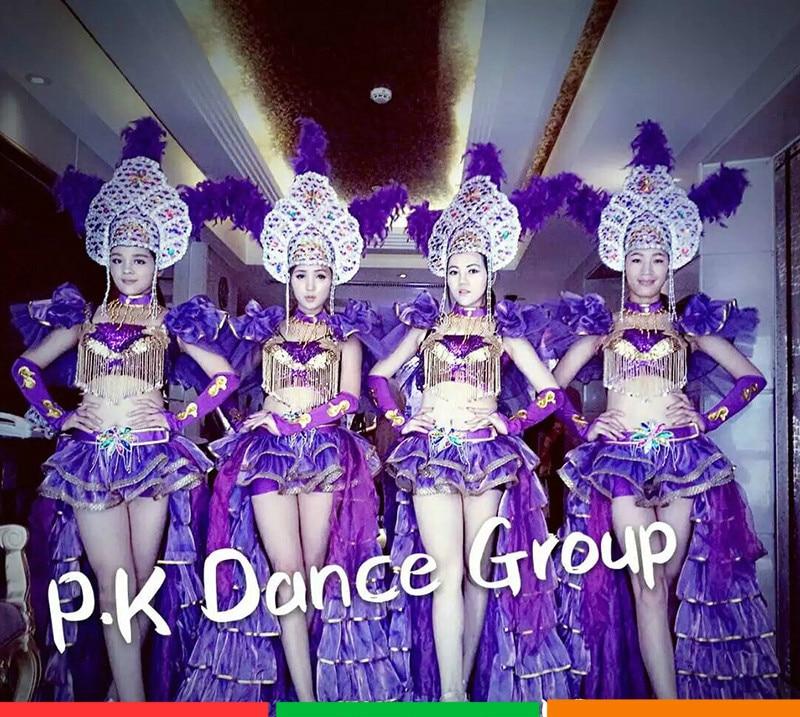 Opening Dance Dance Dresses Costumes New Nightclubs Bars Sexy Car Show Runway Modern Dance Dance Costumes murakami h dance dance dance