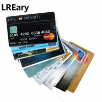 new waterproof Super Slim Credit Card USB Flash Drive Real Capacity 32GB pen drive 4G 8G 16G bank card model Memory Stick