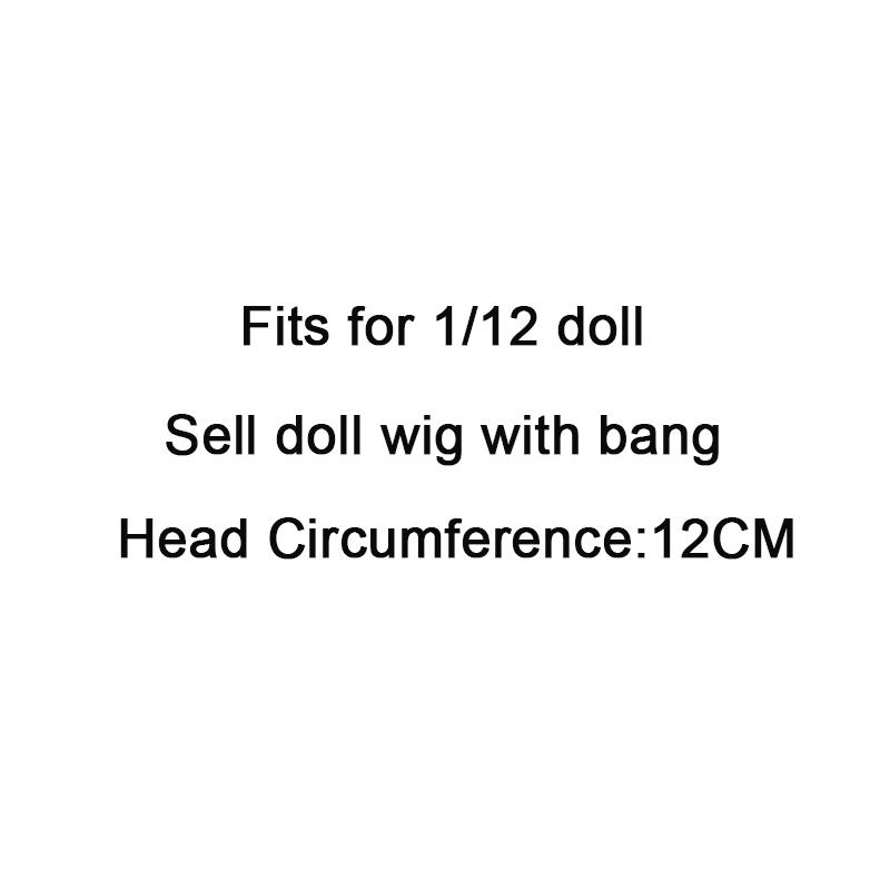 Ny Ankomst Dolls Tilbehør Diverse Farger 15cm / 25cm Straight - Dukker og tilbehør - Bilde 2