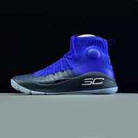 Under Armour Men Curry 4 Basketball Shoes More Fun Stephen Curry sock sneakers Training Boots Zapatillas hombre deportiva