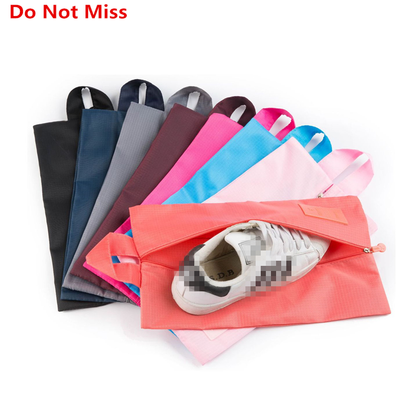 Do Not Miss New Portable Women Travel Shoe Bag Waterproof Shoes Organizer Bag High Quality Travel Storage Men Travel Accessories
