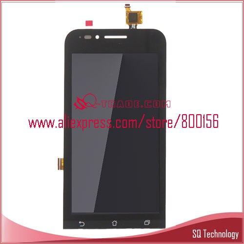 imágenes para Pantalla LCD para Asus Zenfone Ir ZC451TG 4.5 ''Display + Pantalla Táctil Completa Digitalizador de Color Negro El Envío Libre