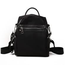 Femmes Vintage sac à dos casual Nylon sac à dos étudiants qualité femme épaule sac à dos école sacs à dos pour les adolescentes filles