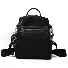 Women Vintage Backpack Causal Nylon Knapsack Students Quality Female Shoulder Bookbag School Backpacks for For Teenagers Girls