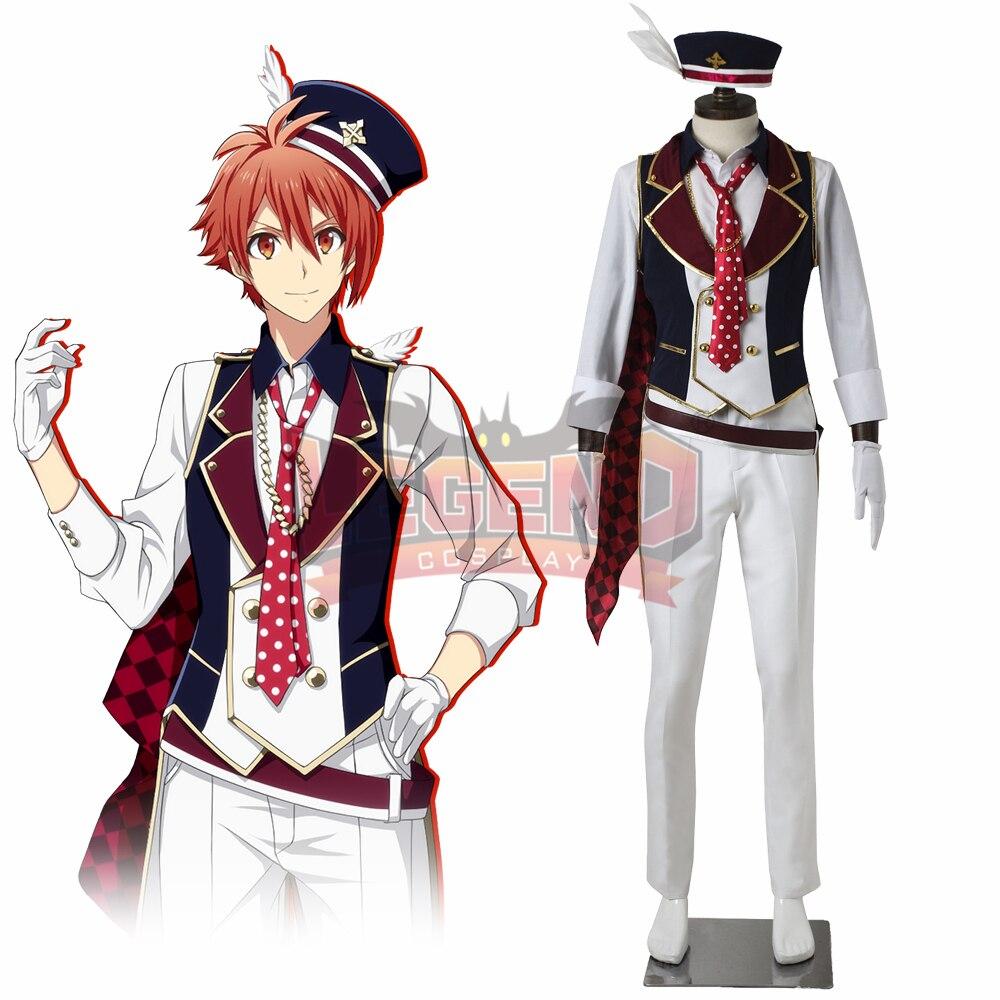Cosplay legend Idolish7 RESTART POiNTER Nanase Riku Cosplay adult costume full set all size custom made