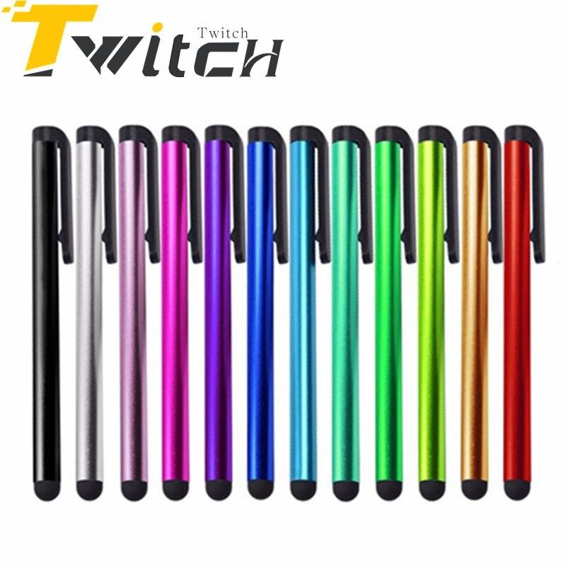 5 Шт./лот стилус Емкостной для Iphone Ipad Mini 1/2/Воздуха 1 воздуха 2 Ipad 6 Подходит для Универсальный Смартфон Планшетный ПК с сенсорным ручка