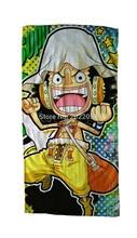 Free Shipping Anime Manga One Piece Bath Towel Face Towels 30x70cm Hand Towel 004