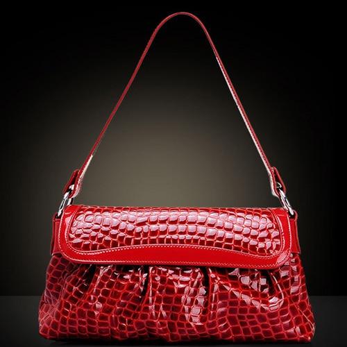 ФОТО women bags leather handbags plaid shoulder handbag fashion 2015 bolsos carteras mujer marca bolsas feminina Crocodile candy bag