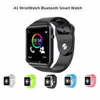 A1 zegarek Bluetooth smart watch Sport krokomierz z SIM aparat Smartwatch Healthband dla smartfonów z systemem Android M25