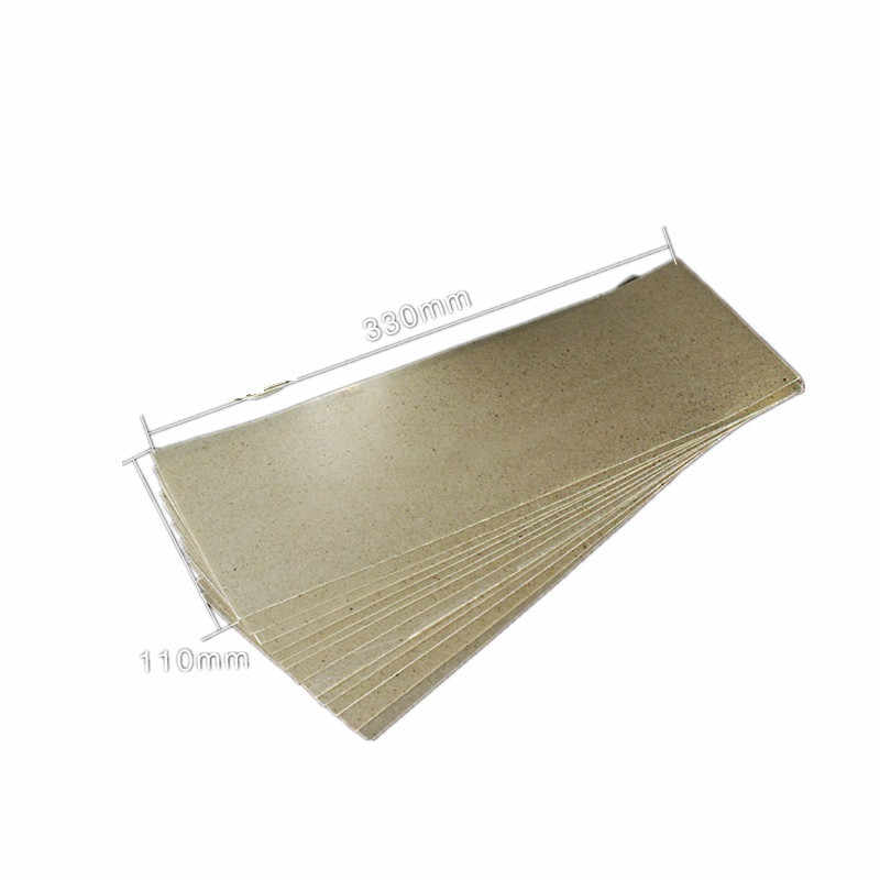 3pcs high temperature resistant mica paper insulating mica sheet for Hot Air Gun Soldering Stations Grilling Heater 330mm*110mm