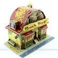 Kids 3D Paper House Puzzle Children Developmental Jigsaw DIY Lovely Houses Education Learning Funny model