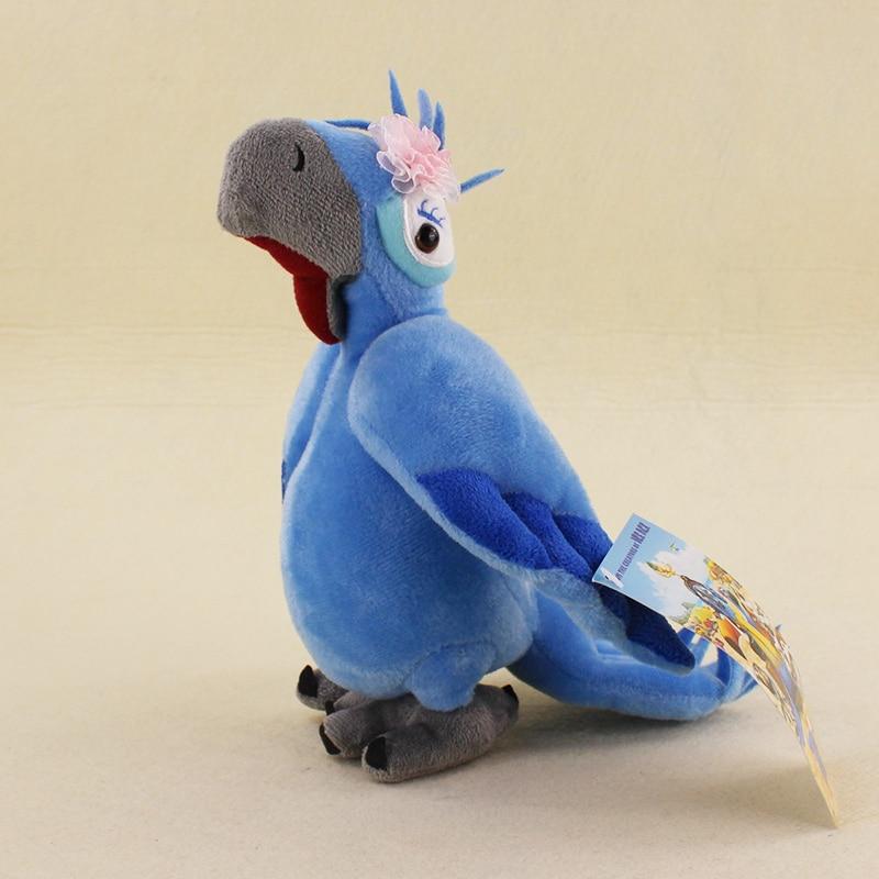 "12/"" BLU /& JEWEL 2PCS Rio Plush Toy Parrot Bird Stuffed Animal Doll for Kids Gift"